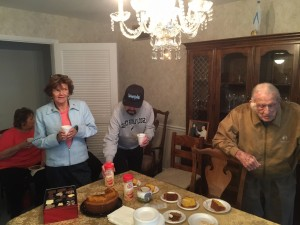 Thanksgiving at the Rectory