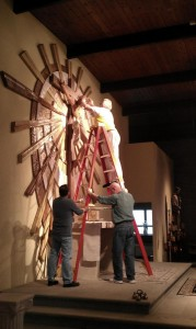 Crowning Jesus with Thorns